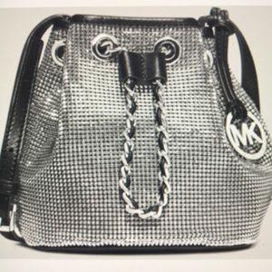 Michael Kors Mesh Frankie Shoulder Bag